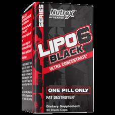 NUTREX LIPO6 BLACK UlTRA CONCENTRATE